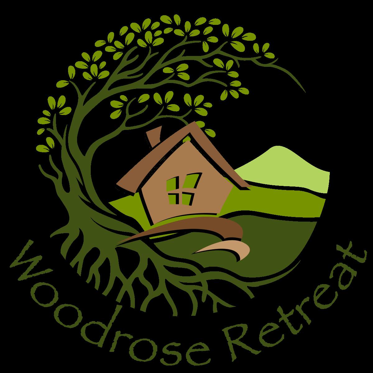 Woodrose Retreat Logo